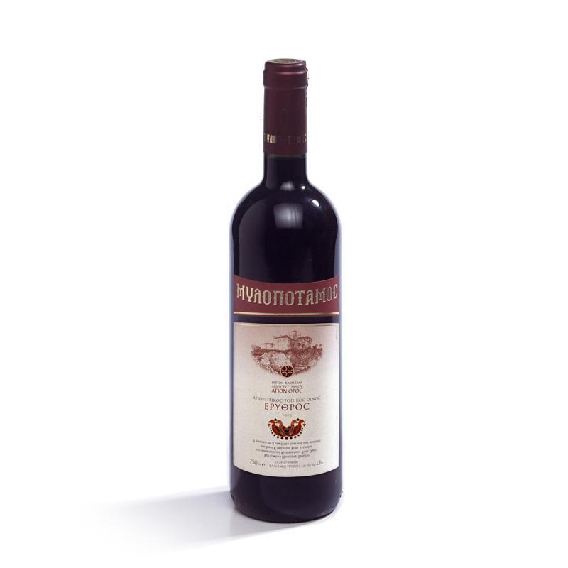 Erithros Milopotamos (Красное вино Милопотамос)